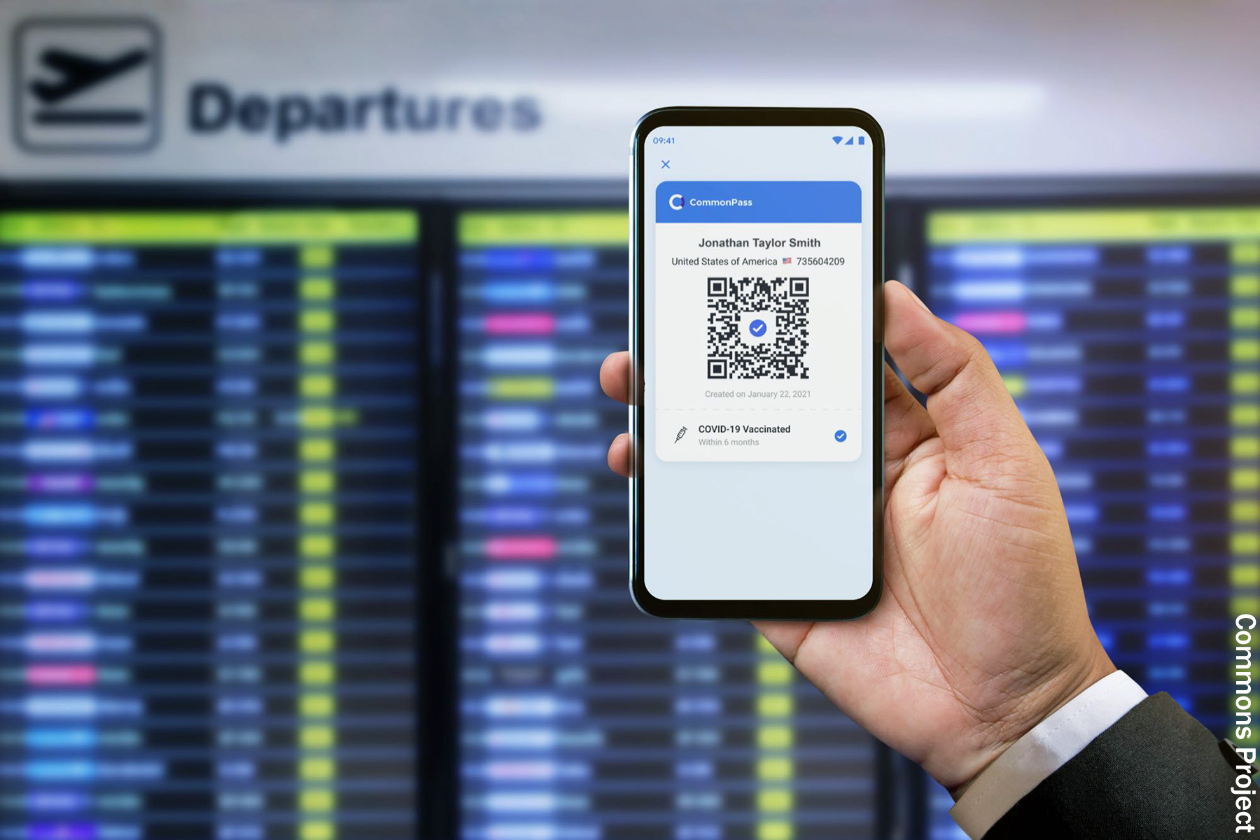 Apps to Let Travelers, Others Show COVID-19 Status