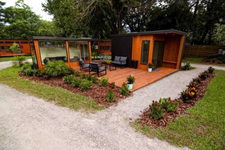Now Open: Tiny House Village In Tampa Bay Is A Great ESCAPE (With Video And Photos)
