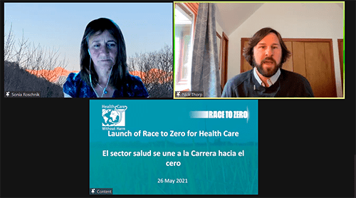 The Race to Zero for the health care sector is on – Join us!
