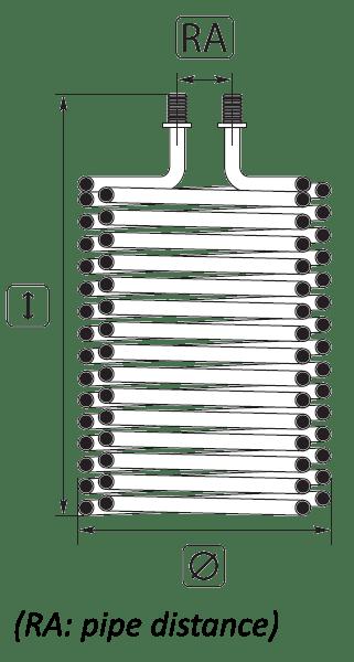 Pressure washer burner coils: Kärcher burner coil