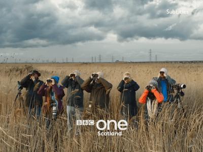 PICTURED: BBC One Scotland ident.