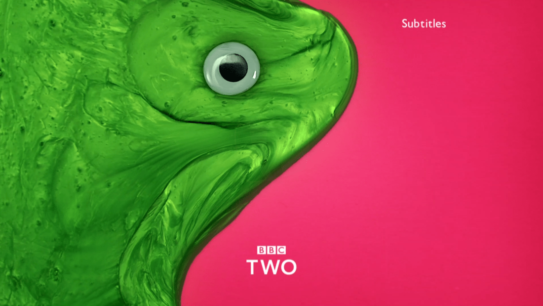 PICTURED: BBC Two ident - Silly.