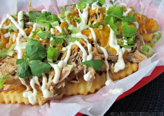 Better Than Del Taco Loaded Carnitas Fries (Copycat) - Top View