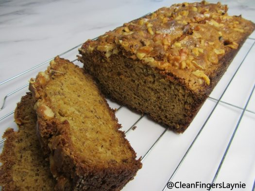 One Bowl Banana Bread Loaf and Slices