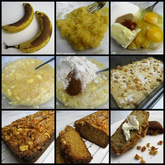 One Bowl Banana Bread Process