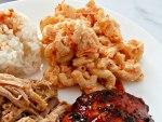 Hawaiian Macaroni-Salad Close-Up