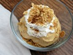 Pumpkin Cheesecake Mousse Individual Serving