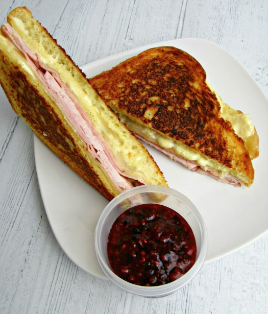 Grilled Monte Cristo Sandwich Top View