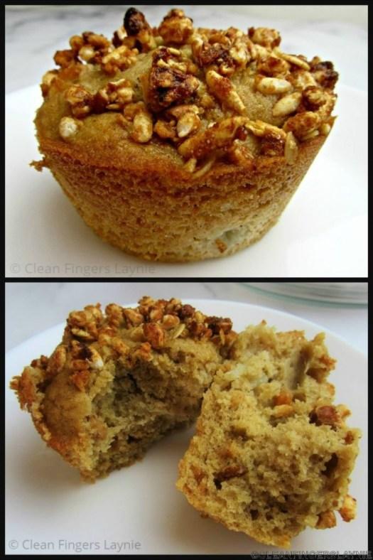 Pear and Granola Muffin - Single Muffin