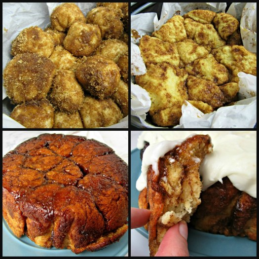 Slow Cooker Monkey Bread Process Shot