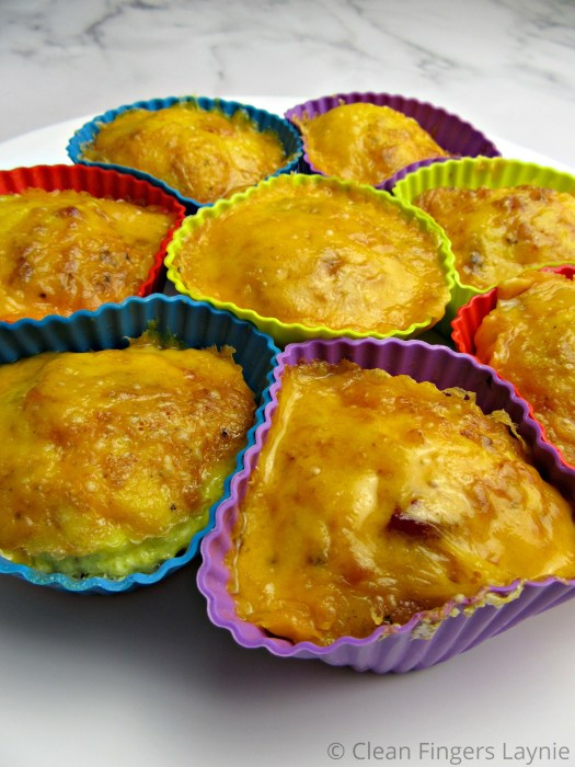 Air Fryer Egg Bites in Silicone Muffin Cups