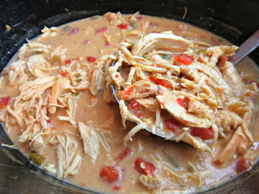 Slow Cooker Queso Chicken in Slow Cooker