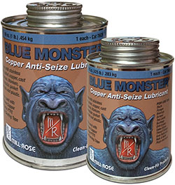 Mill-Rose Blue Monster Copper Anti-Seize Lubricant and Thread Seal