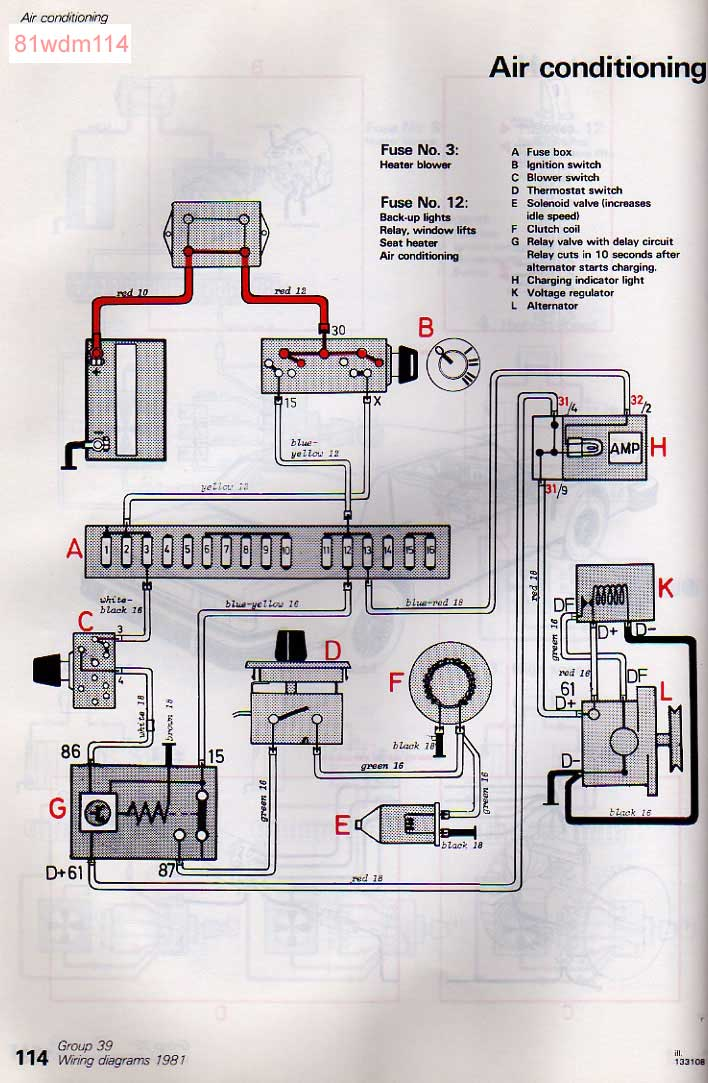 1992 volvo 240 radio wiring diagram wire for 3 way switch alternator   get free image about