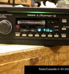 volvo 240 aftermarket radio wiring [ 1790 x 1344 Pixel ]