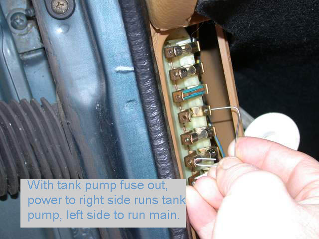 in the tank  240 volvo tank pump and sender