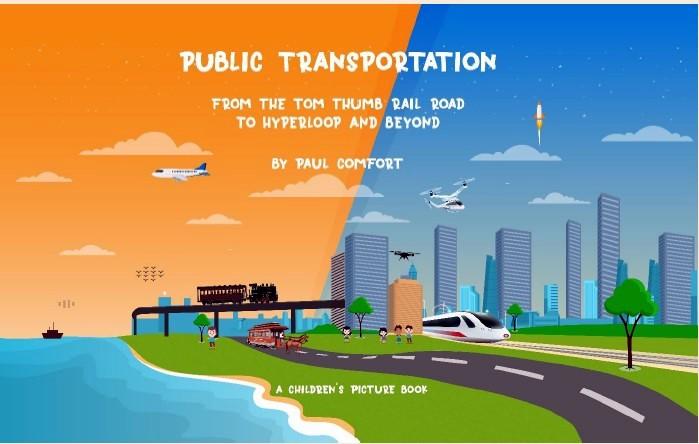Libro infantil para transporte público