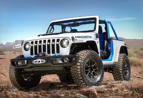 Concepto Jeep Magneto EV