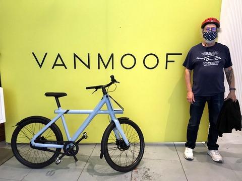 Steve Schaefer y VanMoof Fahrrad