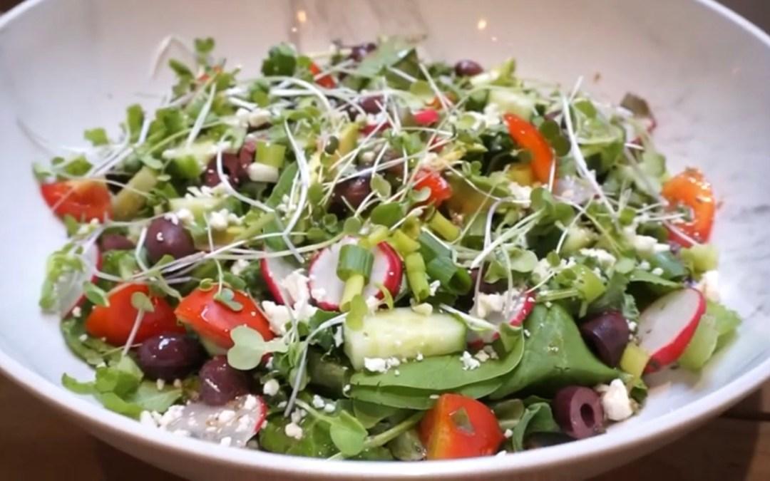 Video-Salad Days of Summer-Easy Greek Salad