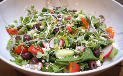 Video-Salad Days of Summer-Easy Greek Salad