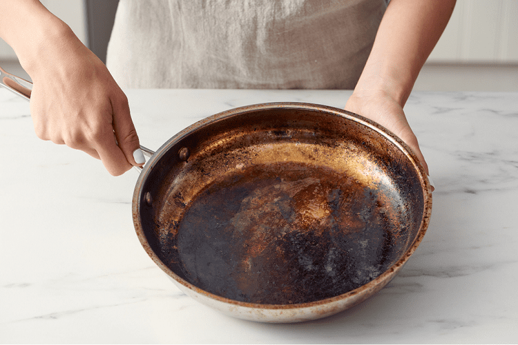 Got Burned Pans? Ketchup Will Do It!
