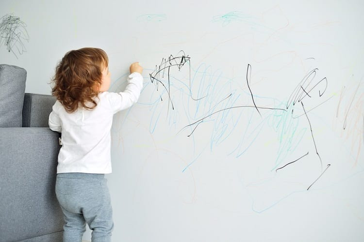 Rye Bread for Pencil Marks on Your Walls