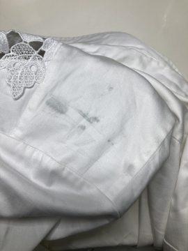 レディース ジャケット バック からの 色移り by 下町、東京都江東区亀戸の会員制クリーニングベレーナ