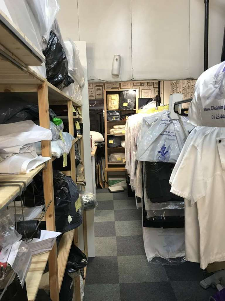 Busy Dry Cleaners