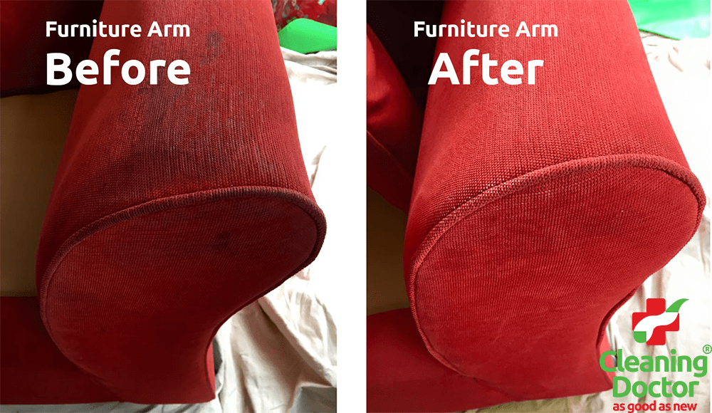 Furniture Arm Before + After