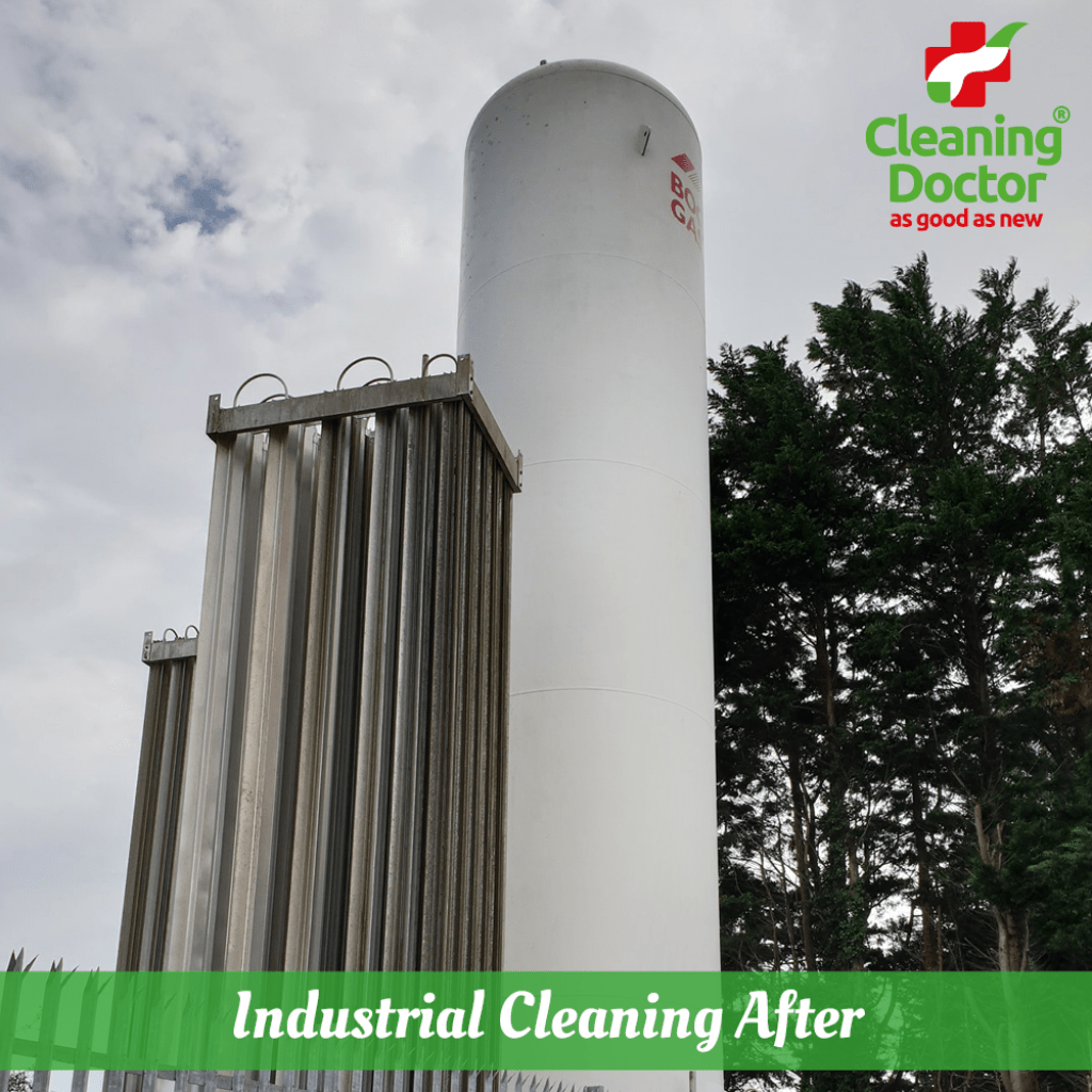 cleaning doctor industrial outdoor cleaning service