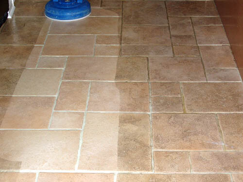 tile and grout cleaning service and