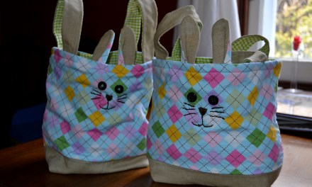 Homemade Easter Basket – Sew Easy?