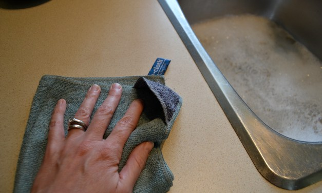 Top 5 Reasons to Use the e-cloth Kitchen Cloth Instead of your Dish Cloth to Wipe your Kitchen Counter