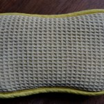 used ecloth washing up pad
