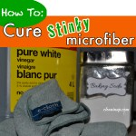 How to Cure Stinky Norwex or e-cloths