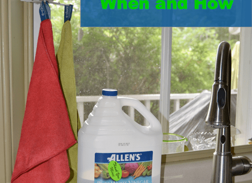 Can I use Vinegar with my e-cloths?