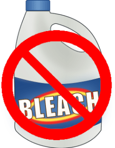 what to do if you bleach your ecloth or norwex