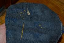 e-cloth microfiber picks up dog puke