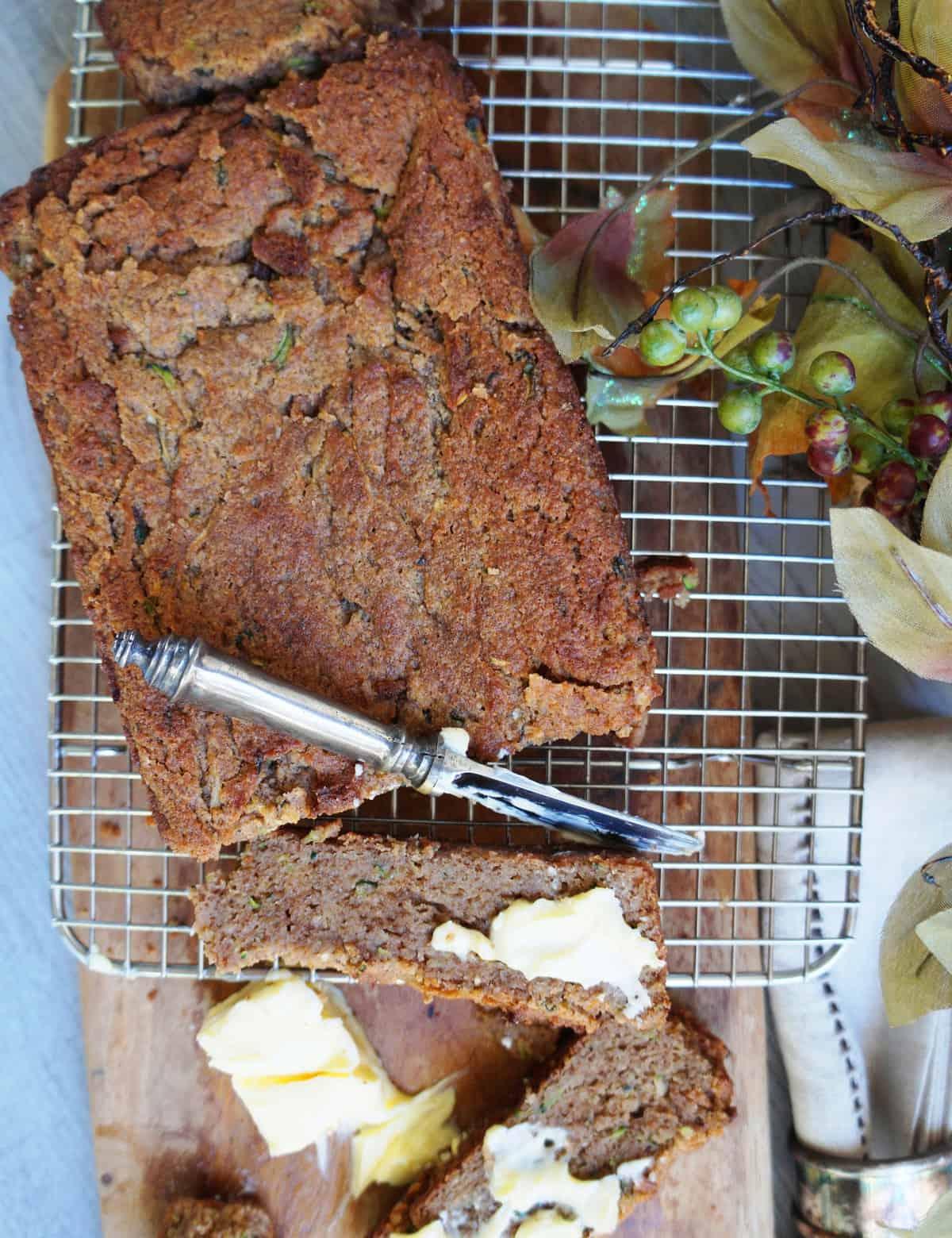 Clean Keto Zucchini Bread