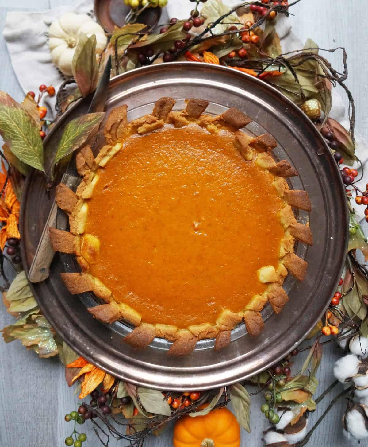 Clean Keto Pumpkin Pie