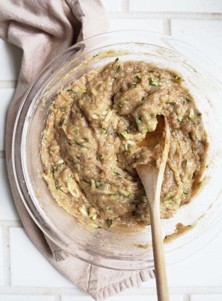 Keto Zucchini Bread Batter
