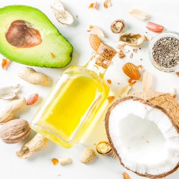 Healthy keto fat sources