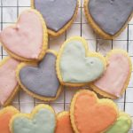 Clean Keto Coconut Heart Sugar Cookies