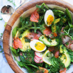 smoked-salmon-salad-with-lemon-dill-vinaigrette