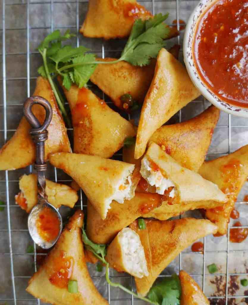 Keto Crab Rangoon Appetizer