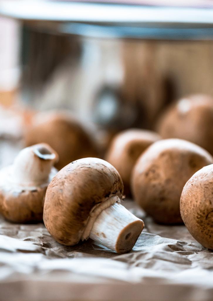 Keto Cremini Mushrooms