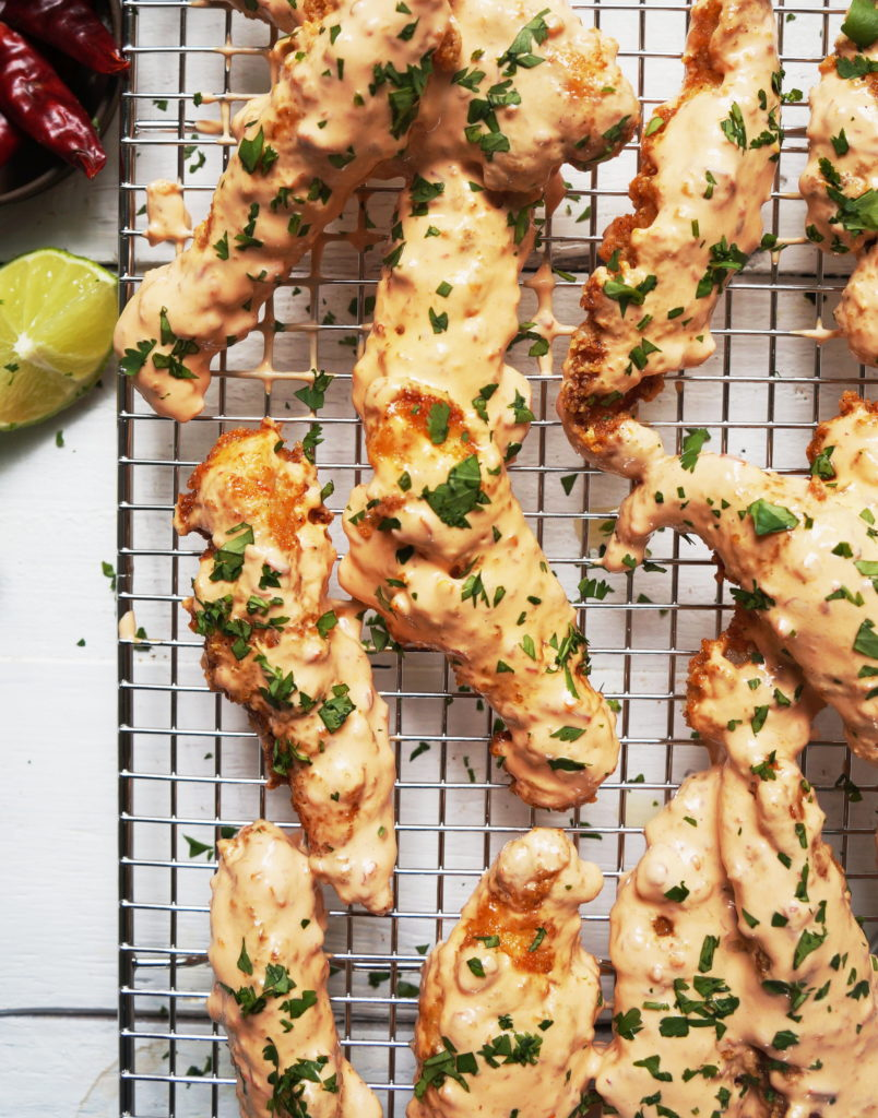 Clean Keto Chicken Fingers