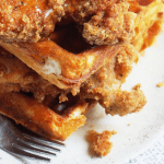 Clean Keto Recipe | Keto Fried Chicken & Waffles