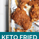 Clean Keto Recipe | Keto Fried Chicken